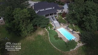 Luxurious Estate with Outdoor Oasis & 6,000 Sq Ft of Living Area in Franklin Township, Indianapolis