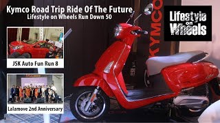 """Kymco Road Trip Ride Of The Future"" Lifestyle on Wheels Run Down 50"