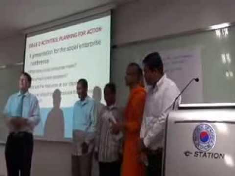 Social Enterprise and Asset Based Community Development in Cambodia