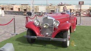 انطلاق معرض قطر للسيارات الكلاسيكية الفارهة