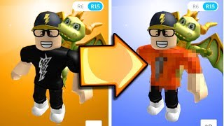 Changing My Roblox Character!! *new Shirt*