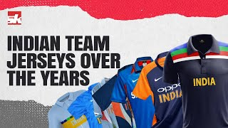 Indian Cricket team' Iconic Jerseys Over the years | Stories behind India Jerseys