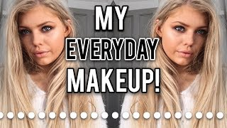 EVERYDAY DAY EYE MAKEUP ROUTINE 2018