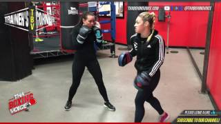 "Video Heather Hardy Teaching ""The Heat"" to Female Boxer in Training download MP3, MP4, WEBM, AVI, FLV Mei 2018"