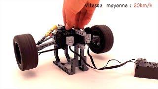 [MOC] Lego Technic Essieux Arrière + Moteur RC - With BuWizz