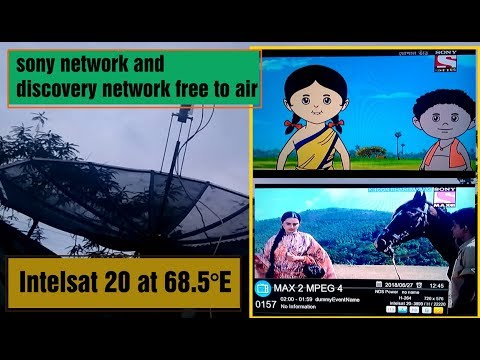 intelsat 20 at 68.5°e (DD FREE DISH) pe sony network / discovery channel / and HBO FREE TOAIR
