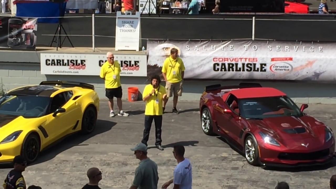 Corvettes At Carlisle Show 2016