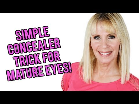 Stop Using Concealer Like a Young Person! Concealer Trick for Mature Eyes