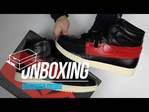 83cea0f580ac Sneaker News on Spider-Man Jordan 1 Unboxing + Review youtube videos ...