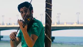 EKHTART SA7 music (TAMER HOSNEY) violin by OBIT كاريوكي