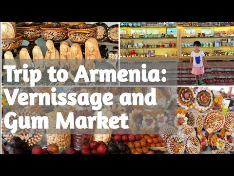 Our Trip To Armenia: Vernissage And Gum Market ||Shopping Destination In Armenia||Bincyness