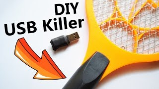 How to Make USB Killer from Mosquito Killer Racket(, 2016-11-26T13:00:06.000Z)