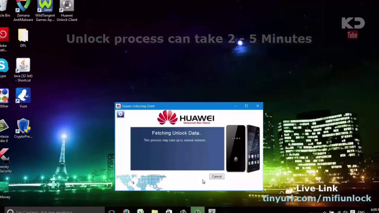 How To Unlock Huawei Mifi Router Free (Mobile Wifi Modem)