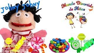 Canciones Infantiles en Ingles- Johny Johny Yes Papa Nursery Rhyme, Canción para niños