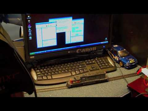 Controlling Model Trains with your PC