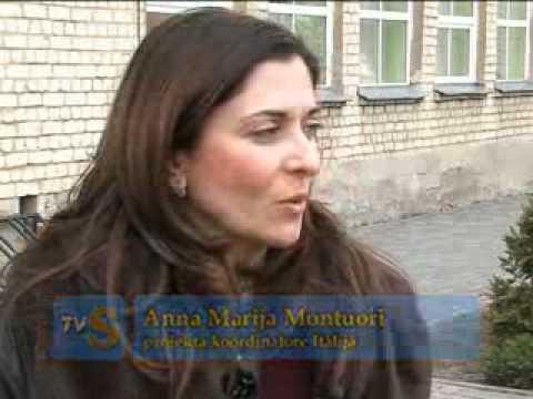 Skrunda/Latvia - project reunion - multilateral project Media-Info