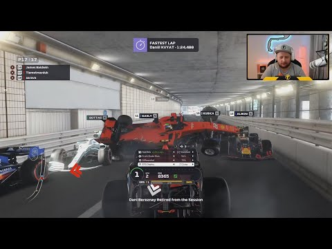 theres a blockage in the monaco tunnel