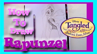How to Draw RAPUNZEL from BEFORE EVER AFTER - @dramaticparrot(There is a new movie coming to the Disney Channel! Then it will lead into a series! It's Tangled Before Ever After, and I am so excited since Rapunzel is one of ..., 2017-02-09T19:05:58.000Z)