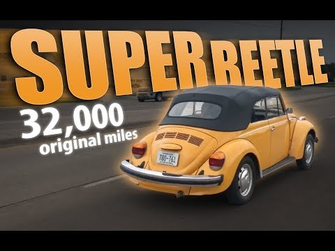 1979 VW Super Beetle with Fuel Injection