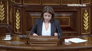 Adriana Lastra, a Vox: