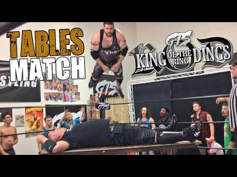 EXPLODING TABLE SPLASH DESTROYS FAT KID! GTS KING OF THE RING DINGS TOURNAMENT SEMI FINALS!