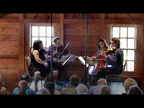 Schubert: String Quartet No. 15 in G major, Mvt I - ChamberFest Cleveland (2014)