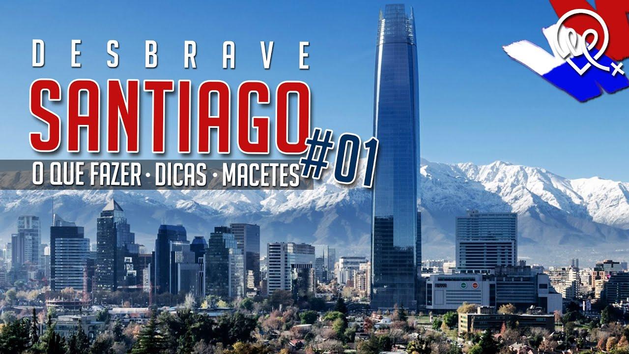 728e6441a74dc Santiago Chile - O Que Fazer  - YouTube