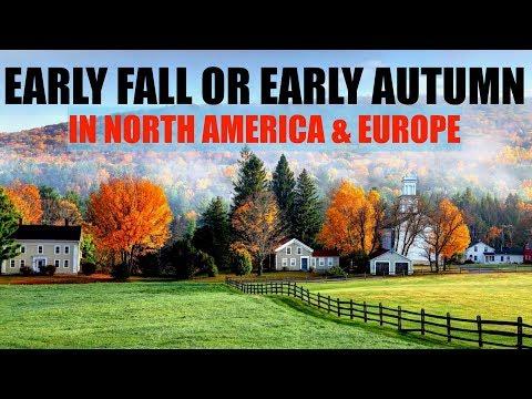 early-autumn-foliage-2018---2019-||-autumn-in-north-america/europe