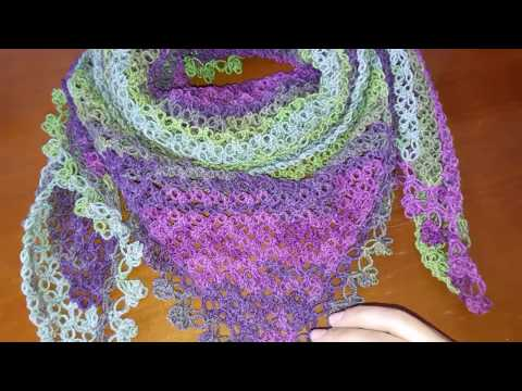 How to Crochet A Lovely Solomon's Stitch Scarf