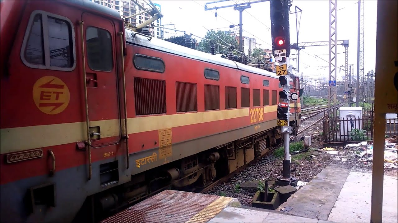 Longest Train In India Godan Express Departure'S Thane Indian Railways  Indian Railway  Dinesh Gada 02:43 HD