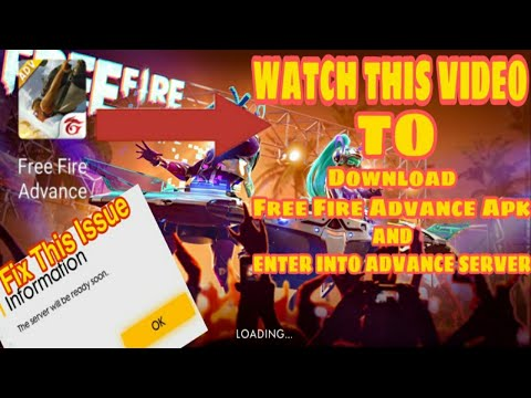 How To Enter In Free Fire Advance Server || Download Free Fire Advance Apk