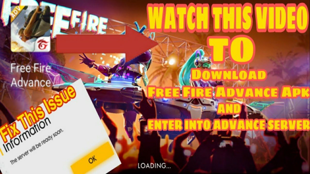 How To Enter In Free Fire Advance Server || D…