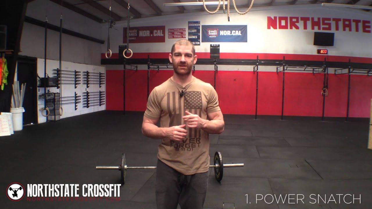Northstate CrossFit: Snatch (Power Snatch & Squat Snatch)
