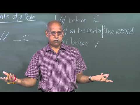 Mod-01 Lec-23 Syllable – Based Generalization