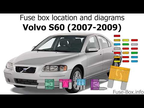 Fuse box location and diagrams: Volvo S60 (2007-2009) - YouTubeYouTube