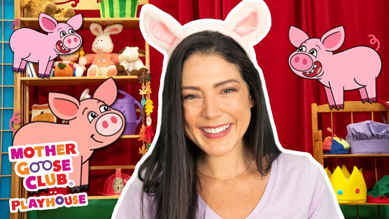 The Three Little Pigs | Mother Goose Club Playhouse Songs & Rhymes