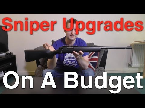 Upgrading An Airsoft Sniper Rifle On A Budget
