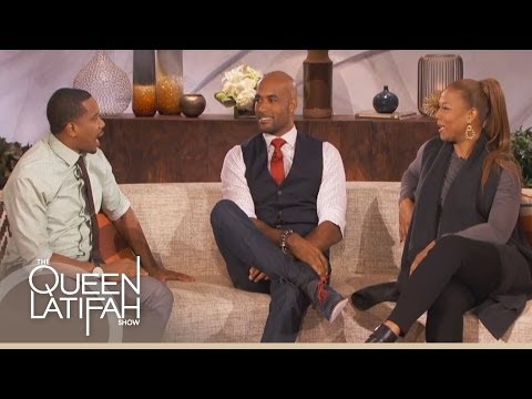 Boris Kodjoe and Duane Martin Talk Wives on The Queen Latifah Show