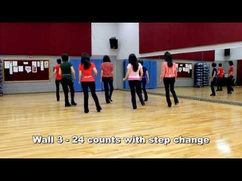 Stripes - Line Dance (Dance & Teach in English & 中文)