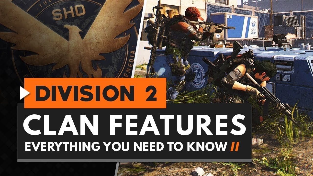 The Division 2 Clan system lets you create and manage a