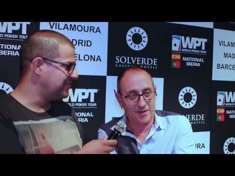 Rui Venceslau Comanda Dia 1B WPT National Iberia 2016