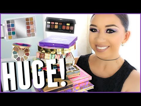 EYESHADOW PALETTE COLLECTION 2017 | GRAB A SNACK!