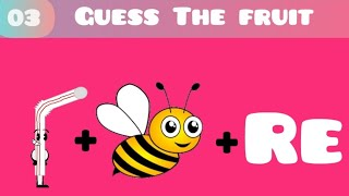 Guess the fruit name by images/ test your brain/#04/99% people are fail to guess the name by image