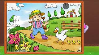 Coloring Games For Kids | Water Paintings For Kids | Kids Drawing