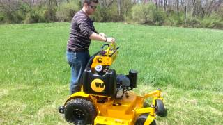 2012 Wright Stander stand on lawn mower