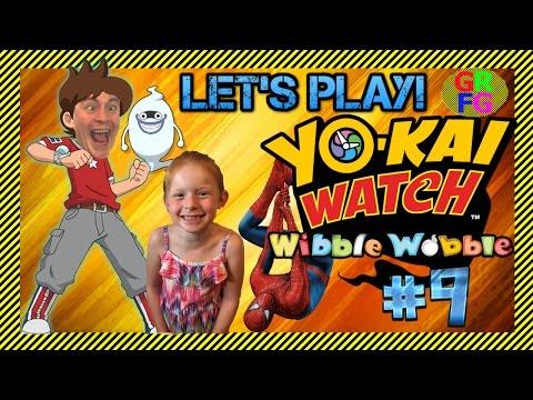 YO-KAI WATCH W/SPIDERMAN?! - Wibble Wobble (Mobile Game) - Wib Wob Wednesday #9
