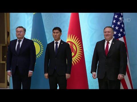 Госсекретарь США Майк Помпео совершил поездку по бывшим советским республикам.