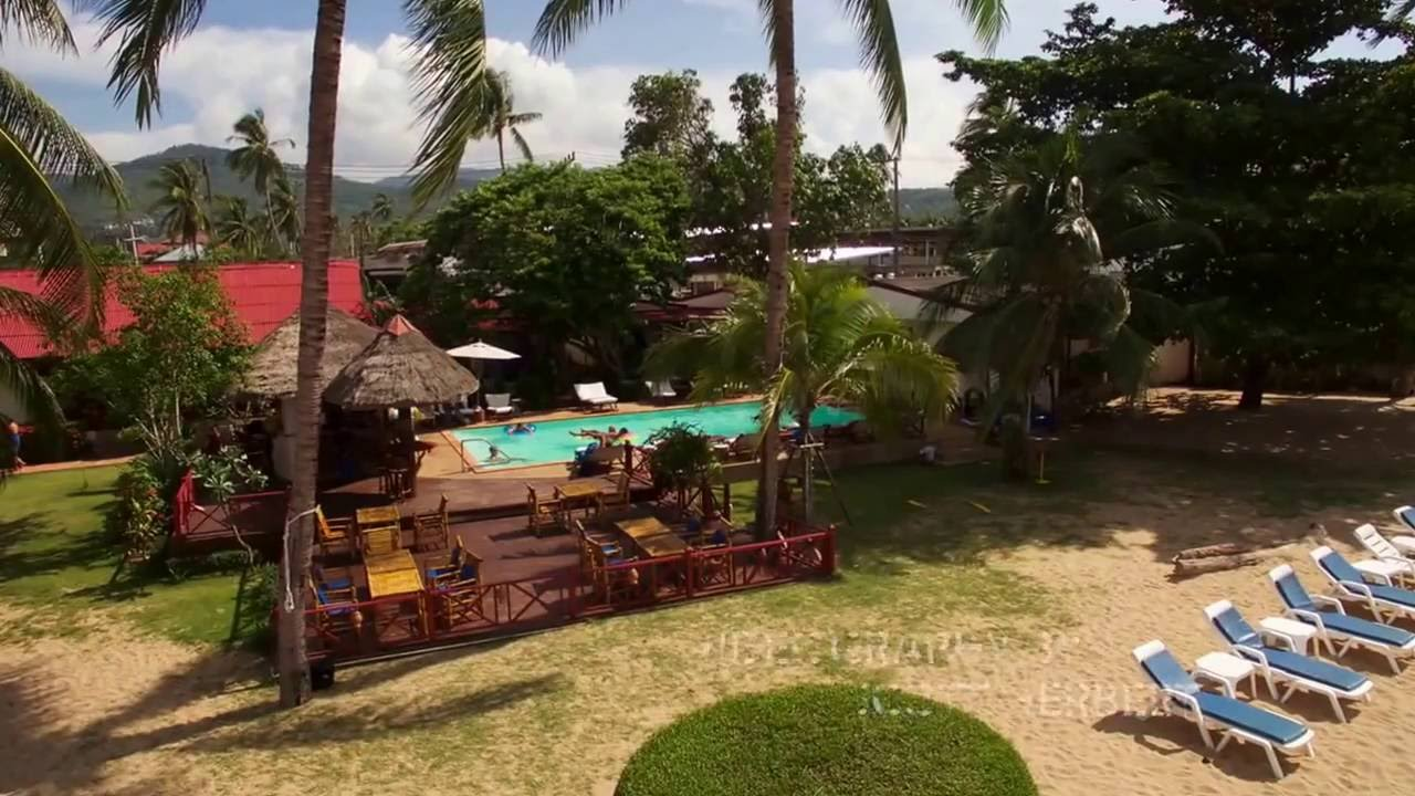 The Waterfront Boutique Hotel Cafe In Bophut Koh Samui Thailand