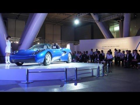 Toray Carbon Fiber EV Concept Car #DigInfo