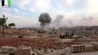 قوات الأسد تستهدف ريف حماة بغاز الكلور